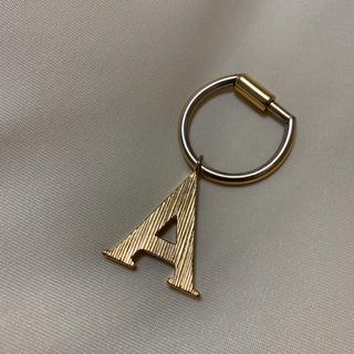 クロエ(Chloe)のクロエ alphabet  A キーリング イニシャル チャーム アルファベット(キーホルダー)