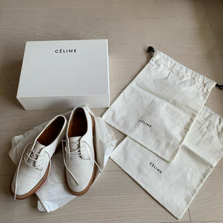 セリーヌ(celine)のセリーヌ レースアップシューズ 36(ローファー/革靴)