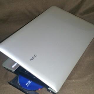 エヌイーシー(NEC)の高スペック/爆速4コア/第3世代i7/SSD/ブルーレイ/ノートパソコン(ノートPC)