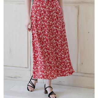 ロペピクニック(Rope' Picnic)のロペピクニック マーメイド 花柄スカート(ロングスカート)