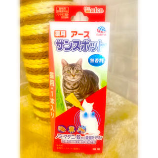 アースバイオケミカル(アースバイオケミカル)の薬用アースサンスポット猫用1本入り(猫)