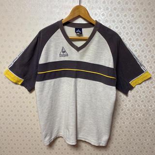 ルコックスポルティフ(le coq sportif)の❇️ルコックスポルティフ❇️メンズ❇️半袖VネックTシャツ❇️(株)デサント(Tシャツ/カットソー(半袖/袖なし))