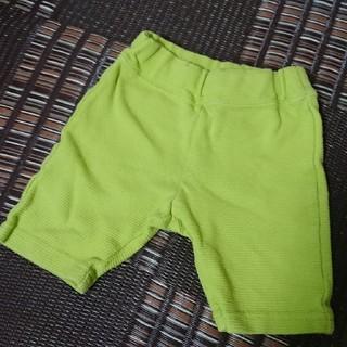 アンパサンド(ampersand)のampersand 80cm 5分丈パンツ(ライトグリーン)(パンツ)