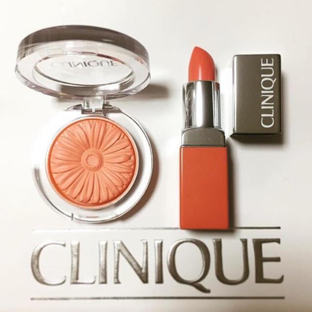 CLINIQUE(クリニーク)のCLINIQUE メロンポップ コスメ/美容のベースメイク/化粧品(チーク)の商品写真