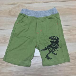恐竜 ハーフパンツ 80(パンツ)