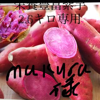 紫芋ーーパープルスイートロード2.6キロ(野菜)