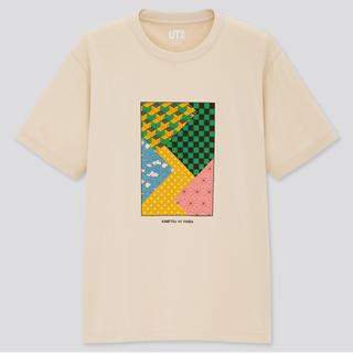 ユニクロ(UNIQLO)の新品 ユニクロ UNIQLO 鬼滅の刃 コラボTシャツ S 着物 限定完売(Tシャツ/カットソー(半袖/袖なし))