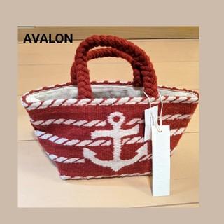 AVALON ニットトートバッグ  赤♡メキシコ