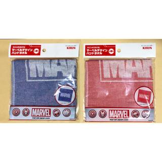 マーベル(MARVEL)のMARVEL 非売品  ハンドタオル 2枚セット(タオル)