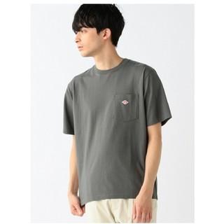 ダントン(DANTON)のDANTON ダントン クルーネックTシャツ☆38サイズ☆チャコールグレー新品(Tシャツ(半袖/袖なし))
