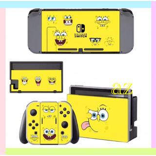 ニンテンドースイッチ(Nintendo Switch)の◎SALE◎任天堂Switch スポンジ・ボブ② 保護スキンシール✦汚れ防止(その他)