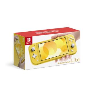 ニンテンドースイッチ(Nintendo Switch)のSwitch Lite 任天堂 スイッチ 本体 ニンテンドウ イエロー 新品(携帯用ゲーム機本体)