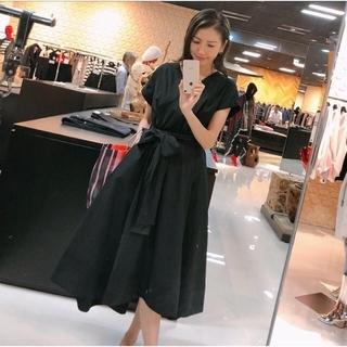 ダブルスタンダードクロージング(DOUBLE STANDARD CLOTHING)の新品 カシュクールワンピース(ロングワンピース/マキシワンピース)