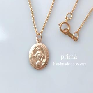 再販▷14kgf聖母マリアメダイネックレス 奇跡のメダイネックレス(ネックレス)