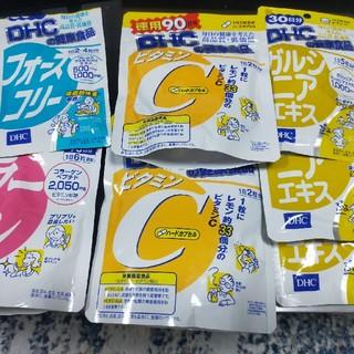ディーエイチシー(DHC)のDHC ガルシニアエキス ビタミンC コラーゲン フォースコリー(コラーゲン)