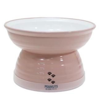 ピーナッツ(PEANUTS)の【ペット】スヌーピー フード ボウル (ピンク)(犬)