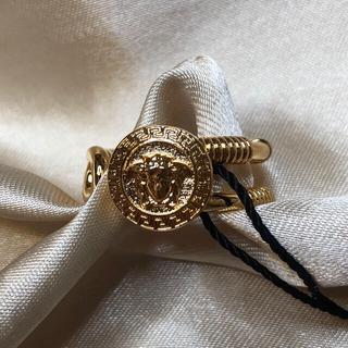 ヴェルサーチ(VERSACE)のVersace ヴェルサーチ  ピン リング 指輪(リング(指輪))