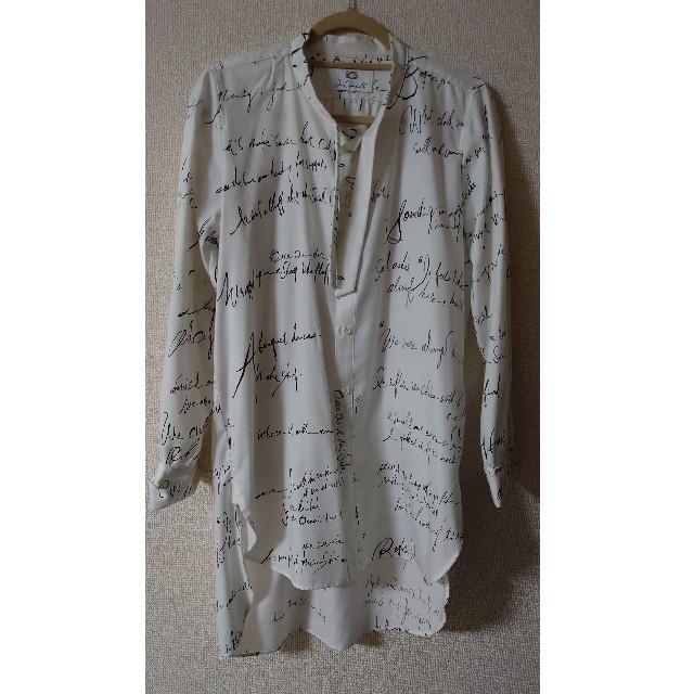 LAD MUSICIAN(ラッドミュージシャン)のJUN OKAMOTO 僕の言葉を紡いで出来たシャツ メンズのトップス(シャツ)の商品写真