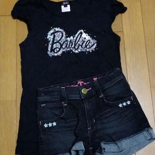 バービー(Barbie)のバービー シャツ ☆ サムシング デニムパンツ 150(Tシャツ/カットソー)