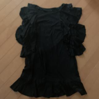 トゥービーシック(TO BE CHIC)のトゥービーシック Ⅲ 黒(カットソー(半袖/袖なし))