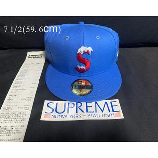 シュプリーム(Supreme)のsupreme S Logo New Era ニューエラ(キャップ)