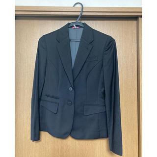 アオキ(AOKI)のリクルートスーツ 上下 黒 レディース(スーツ)