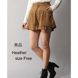 heather - 美品 heather ヘザー   ショートパンツ