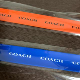 コーチ(COACH)のCOACH コーチ リストバンド ノベルティ(ノベルティグッズ)