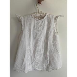 エディットフォールル(EDIT.FOR LULU)のコットン花刺繍ブラウス(シャツ/ブラウス(半袖/袖なし))