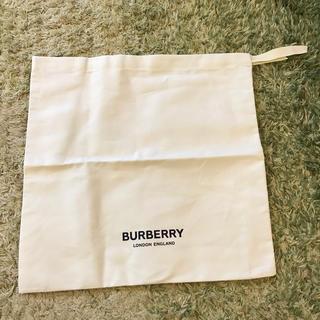 バーバリー(BURBERRY)のバーバリー シューズケース 保存袋 巾着(ショップ袋)