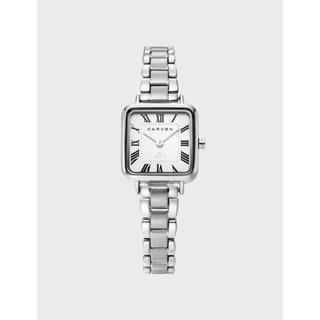 カルヴェン(CARVEN)のCARVEN カルヴェン レディース 腕時計 メタル シルバー(腕時計)
