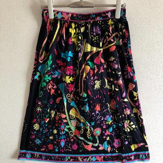 レオナール(LEONARD)のレオナールのスカートです。(ひざ丈スカート)