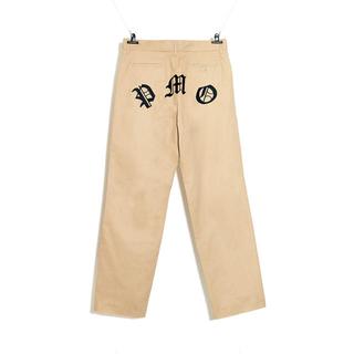 ピースマイナスワン(PEACEMINUSONE)のPMO WORK PANTS #1 BEIGE(ワークパンツ/カーゴパンツ)