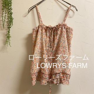 LOWRYS FARM - LOWRYS FARM ローリーズファーム*M*キャミソール キャミ 小花