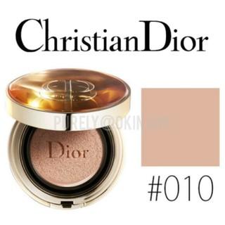 ディオール(Dior)の【Dior】010 ディオール プレステージ ル クッション タン ドゥ ローズ(ファンデーション)