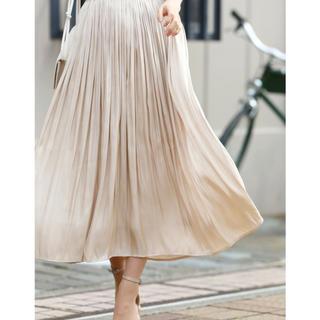 カワイイ(cawaii)の【新品タグ付き】frenchpave 超軽量光沢シャイニースカート(ロングスカート)