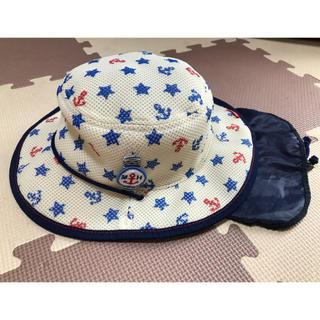 ミキハウス(mikihouse)のミキハウス 日除けつき テンガロンハット 54(帽子)