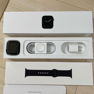 アップルウォッチ(Apple Watch)のApple Watch  series5 ステンレスモデル(腕時計(デジタル))