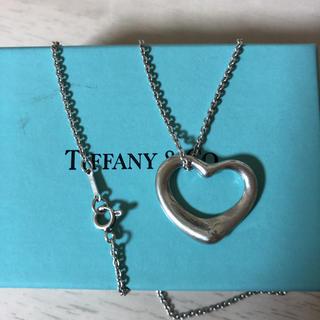 ティファニー(Tiffany & Co.)のティファニーオープンハートネックレス(ネックレス)