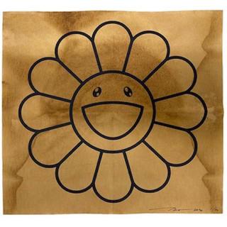 メディコムトイ(MEDICOM TOY)の村上隆 コーヒーブルース ドリップ お花 フラワー ドラえもん(版画)