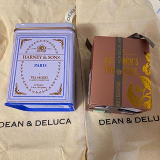 ディーンアンドデルーカ(DEAN & DELUCA)の紅茶HARNEY&SONS、デンマーク王室御用達A.Cパークス(茶)
