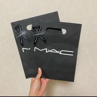 マック(MAC)のプレゼント仕様マックショッパー mac(ショップ袋)