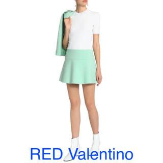 レッドヴァレンティノ(RED VALENTINO)のREDValentino ヴァレンティノ セリーヌ バレンシアガ ミュウミュウ(ミニスカート)