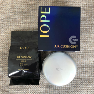 アイオペ(IOPE)の値下げ 新品 IOPE アイオペ クッションファンデーション 格安 韓国コスメ(ファンデーション)