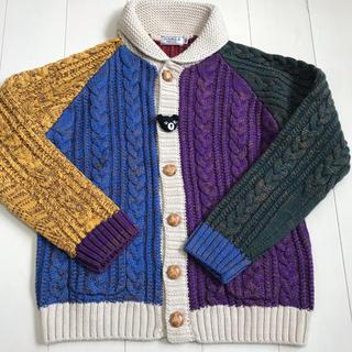 DOUBLE.B - ニットカーディガン セーター