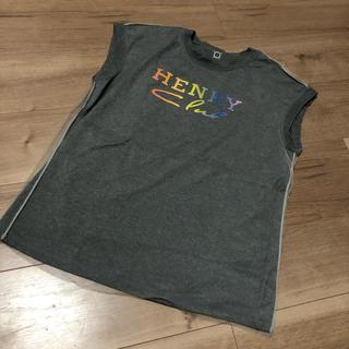 ヘンリークラブ Tシャツ(ヨガ)