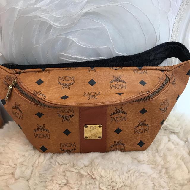 MCM(エムシーエム)の☆美品☆MCM ベルトバッグ ウエストバッグ ヴィセトス レディースのバッグ(ボディバッグ/ウエストポーチ)の商品写真