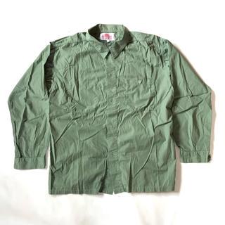ダントン(DANTON)のヴィンテージ DANTON ワークシャツ(シャツ)