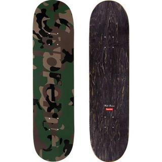 シュプリーム(Supreme)の込み Supreme Camo Logo Skateboard 緑 20aw(その他)