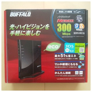 バッファロー(Buffalo)の≪BUFFALO≫WHR-G301N(PC周辺機器)